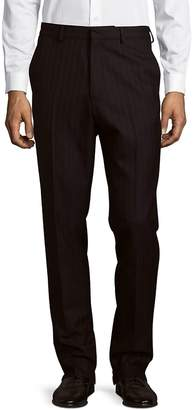 Dries Van Noten Men's Striped Wool Trousers