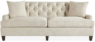 Massoud Furniture Carleton Sofa - Cream