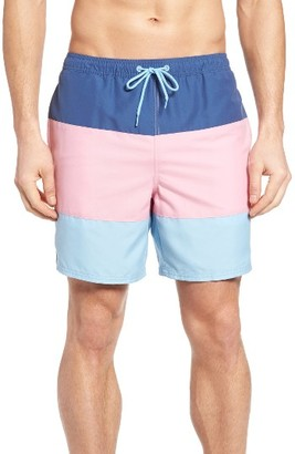 Men's Vineyard Vines Three Panel Chappy Swim Trunks $89.50 thestylecure.com