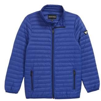 Armani Junior Packable Puffer Coat