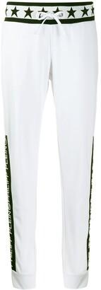 Philipp Plein Logo print jogging trousers