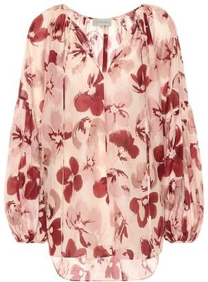 Lee Mathews Exclusive to Mytheresa Lucinda floral blouse
