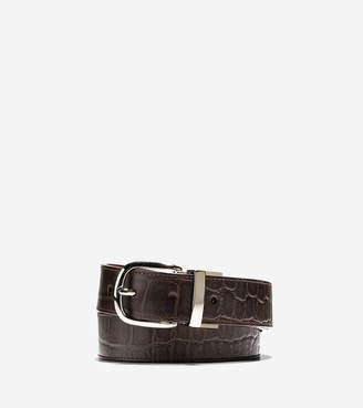 Cole Haan 32mm Reversible Croc Belt