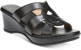 Naturalizer Violet Wedge Sandals Women Shoes