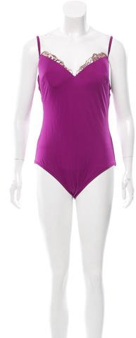 La Perla Embellished One-Piece Swimsuit w/ Tags
