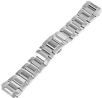Philip Stein Teslar 3-SS 22mm Stainless Steel Silver Watch Bracelet