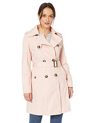Big Chill Women's Trench Coat with Belt