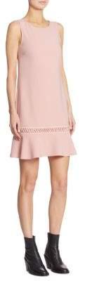 Moschino Lace-Up Drop Waist Dress