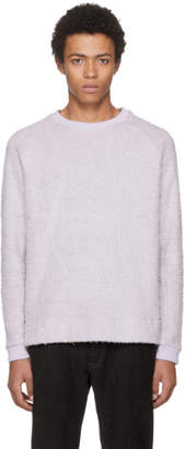 Fanmail Purple Sherpa Sweatshirt