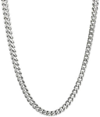 JCPenney FINE JEWELRY Mens Stainless Steel 30 4mm Thin Rolo Chain