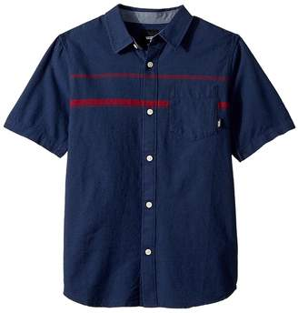 Vans Kids Thurber Short Sleeve Woven Boy's Clothing