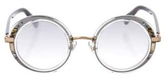 Jimmy Choo Swarovski Gem Sunglasses