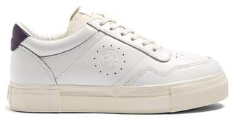 Eytys Arena Low Top Leather Trainers - Womens - White