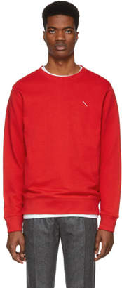 Saturdays NYC Red Slash Bowery Sweatshirt