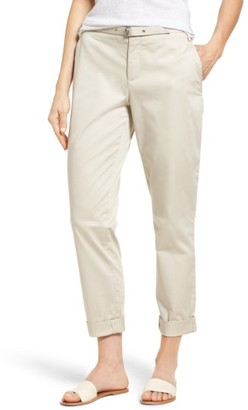 Women's Nydj Roll Cuff Ankle Pants $124 thestylecure.com