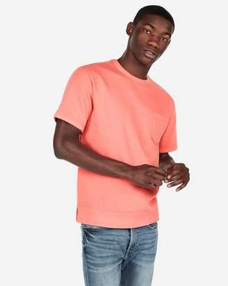 Express Crew Neck One-Pocket Fleece Sweatshirt