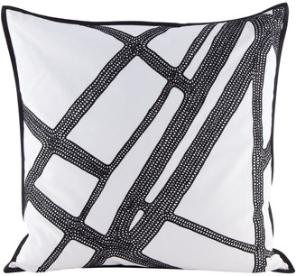 Artistic Home & Lighting Intersections Pillow With Goose Down Insert