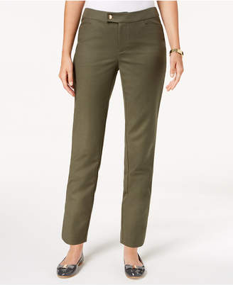 Charter Club Cropped Slim-Leg Pants, Created for Macy's