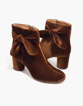 Madewell The Esme Bow Boot in Velvet