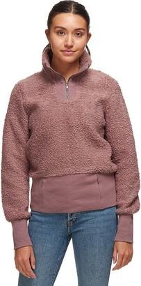 Basin and Range Cozy Teddy 1/4-Zip Pullover - Women's
