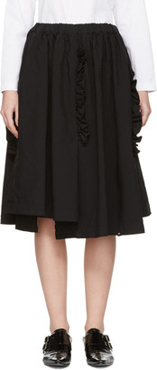 Comme des Garçons Black Ruffle Skirt $700 thestylecure.com