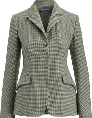 Ralph Lauren Becket Checked Wool Jacket