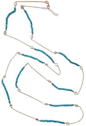 Cosanuova Long Turquoise Necklace