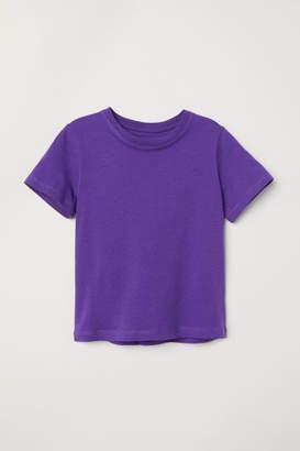 H&M Cotton T-shirt - Purple