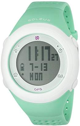 Soleus Unisex SG012-345 GPS Fly Digital Display Quartz Watch