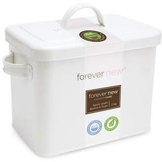 Forever New 2 KG Powder and Retro Style Laundry Tin Set