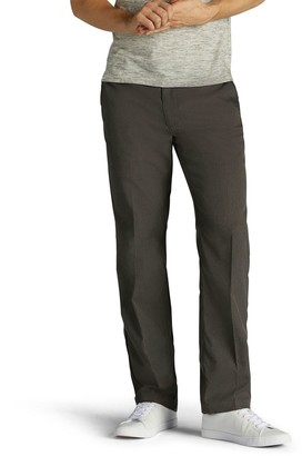 Lee Big & Tall Performance Series Extreme Comfort Straight-Fit Refined Khaki Pants