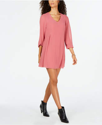INC International Concepts I.N.C. Tie-Back Shift Dress, Created for Macy's