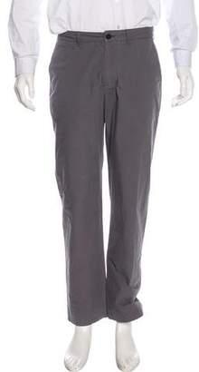 Burberry Flat Front Slim Pants