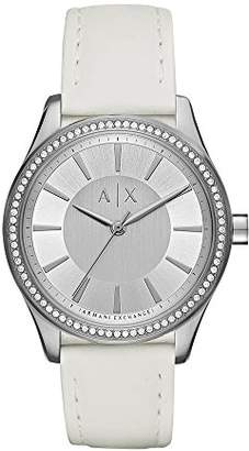 Armani Exchange Women's AX5445 Silicone Watch