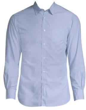 Officine Generale Benoit Pencil Stripe Cotton Shirt