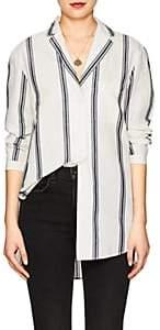 Rag & Bone Women's Alyse Striped Cotton-Linen Blouse - Ivorybone