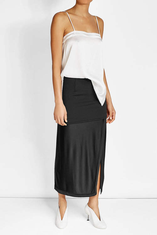DKNY DKNY Midi Skirt with Slit