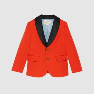 Gucci Children's wool twill jacket
