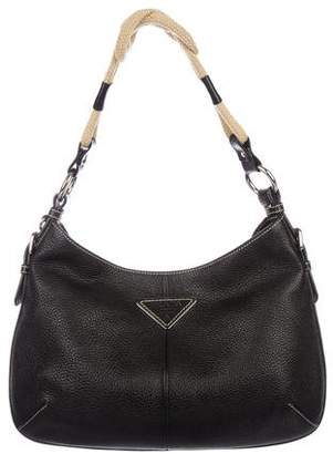 cda056147a67 Pre-Owned at TheRealReal · Prada Vitello Daino Rope Hobo