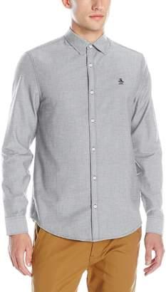 Original Penguin Men's Oxford Long Sleeve Button Down Shirt