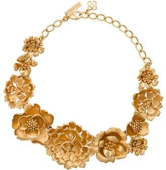 Oscar de la Renta Blooming Bold Flower necklace