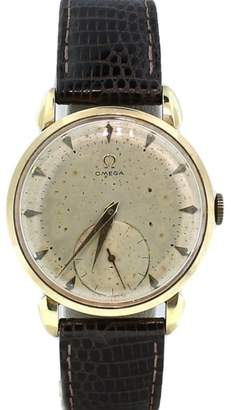 Omega Vintage Sub Second Wind Up 17 Jewels Gold Plated Automatic Watch