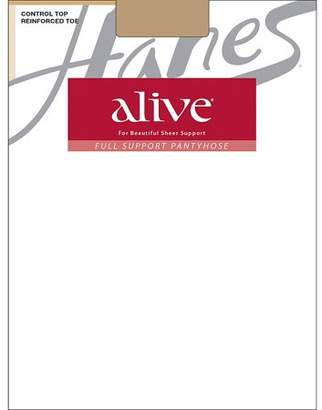Hanes Womens Alive Full Support Control Top Pantyhose