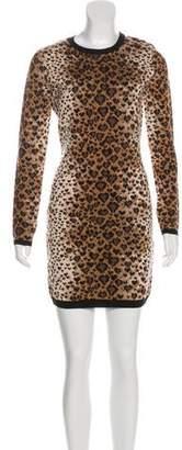 RED Valentino Wool Knee-Length Dress