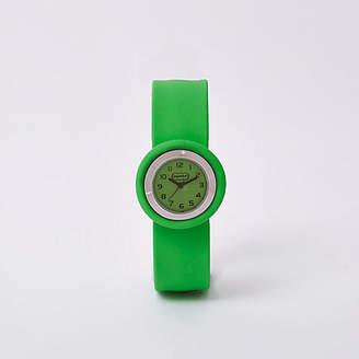 River Island Bright green popwatch