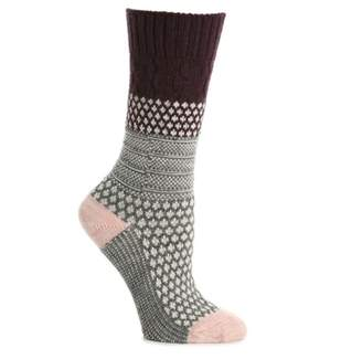 Smartwool Popcorn Cable Women's Boot Socks