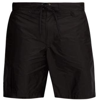 Prada Nylon Board Shorts - Mens - Black