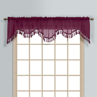 Co UNITED CURTAIN United Curtain Monte Carlo Rod-Pocket Valance