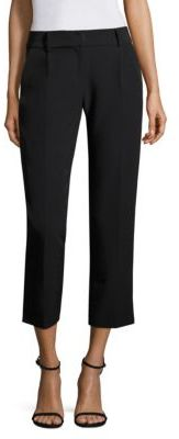 MILLY Nicole Italian Cady Pants $295 thestylecure.com