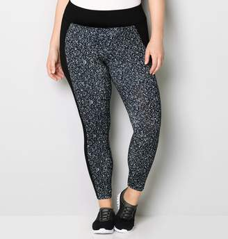 Avenue Abstract Inset Legging